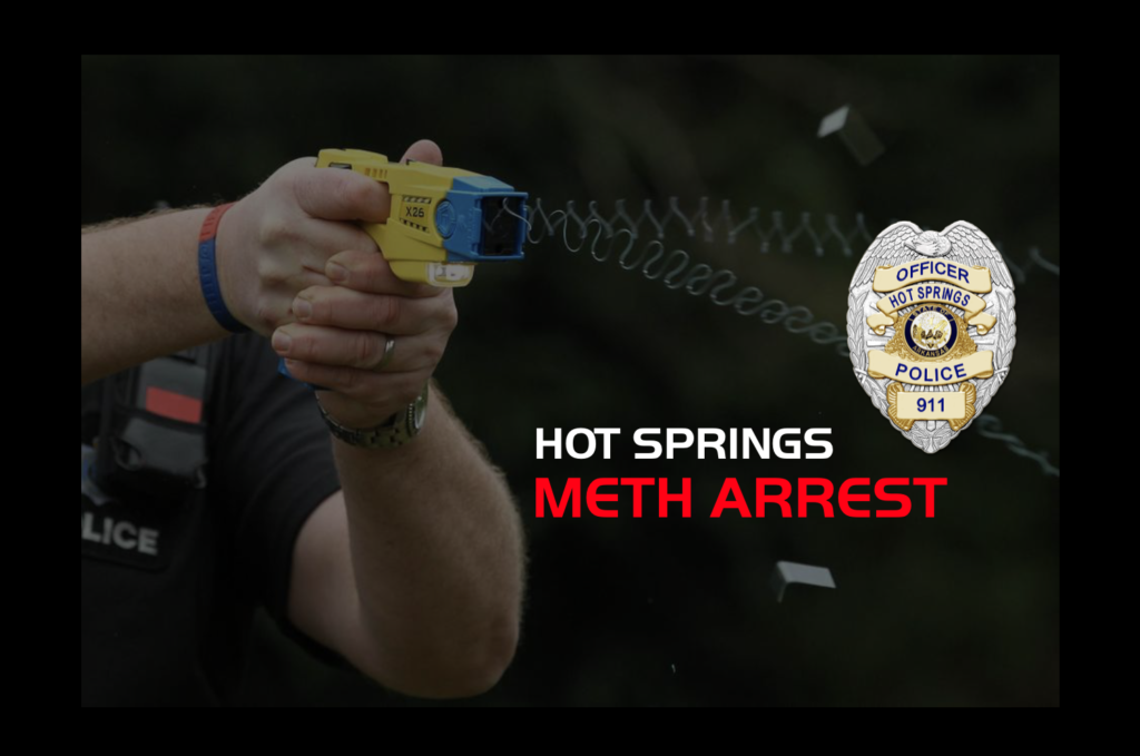 Foot Chase, Tazer, Meth Bust, Wanted Person